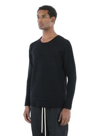 Maglione fabricat manual din lana merinos