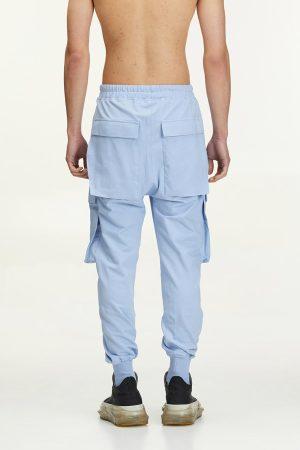 Pantalon Cargo Bastonetto fabricat manual din bumbac si de culoare beige
