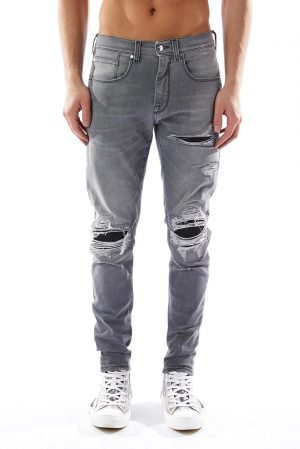 Pantalon Jeans NG fabricat manual din blug premium