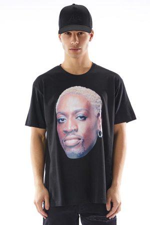Tricoul RDMN fabricat din bumbac de culoare neagra