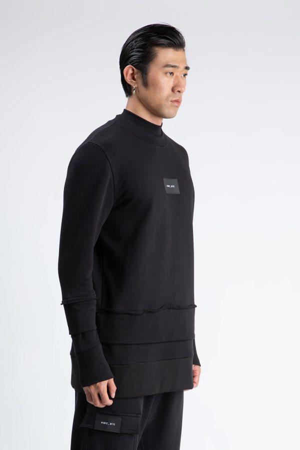 Bluza Dubla fabricata manual din bumbac