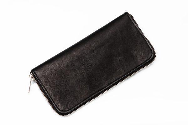portofel fabricat din piele si semnat A.M.Couture