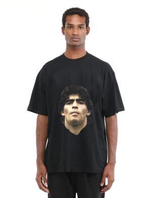 Tricou D10S cu imprimeu cu fata lui Diego Armando Maradona